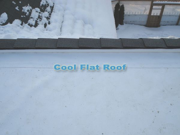Flat roofing ridge ventilation in Andover, CT