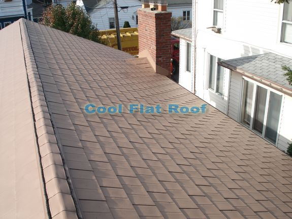 Interlocking Aluminum Shingles Roofing