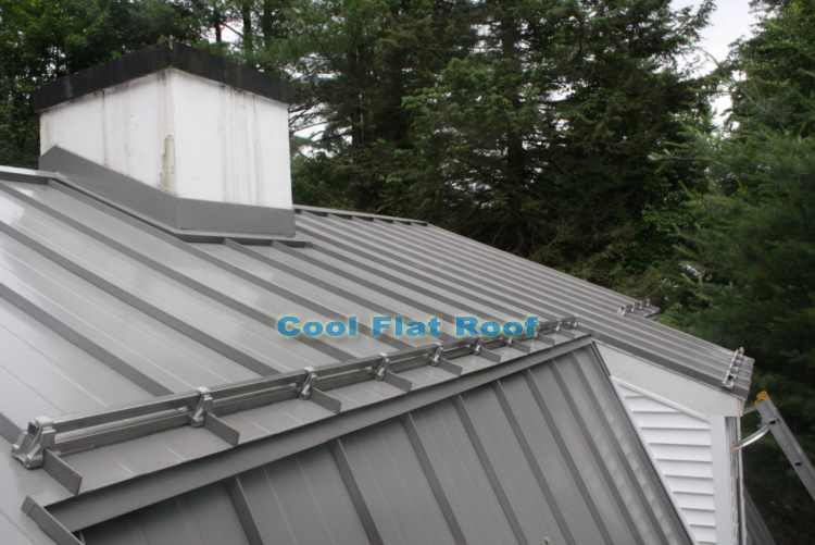 residential metal roof - Metal Roof Flashing