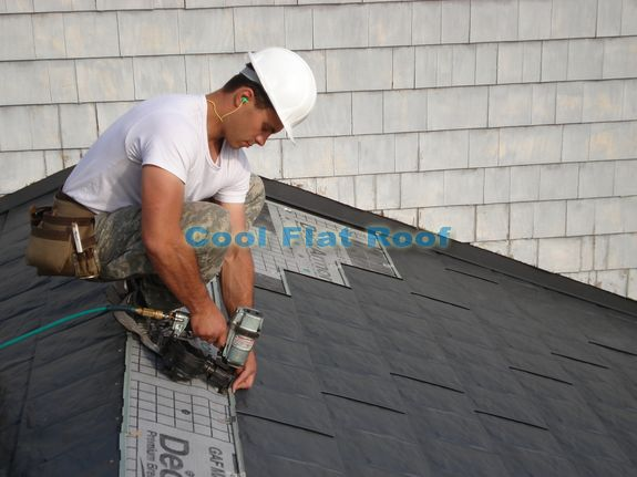 Metal Shingle Installation : Metal roofing materials and prices cool flat roof
