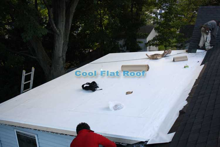 IB flat roofing.