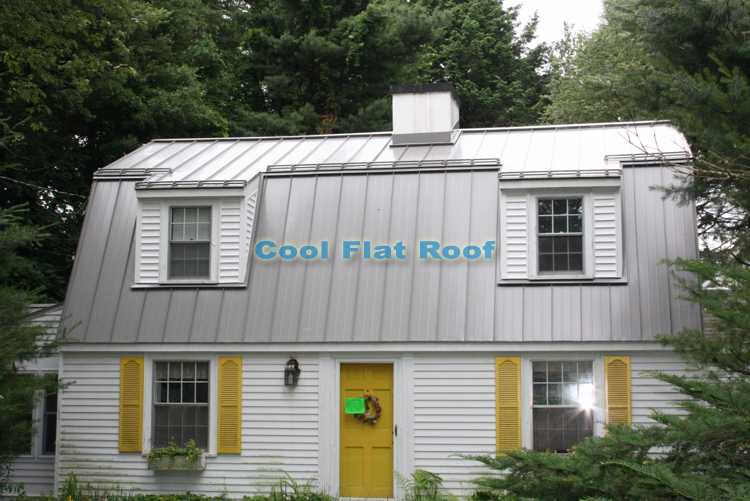 Metal Roofing Cool Flat Roof Blog