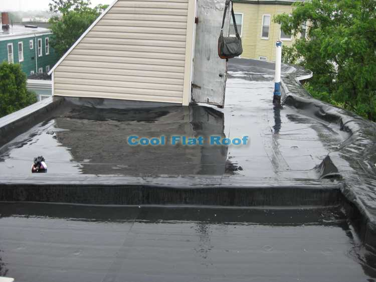 leaking rubber roof boston ma