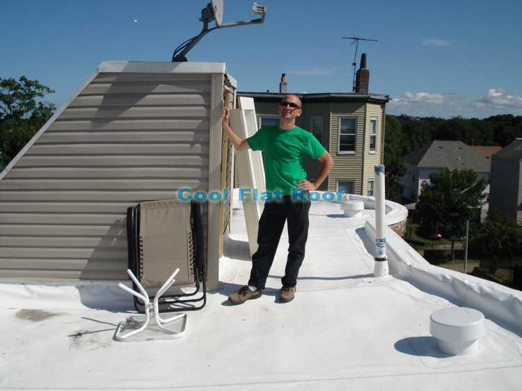 rubber roofing boston ma