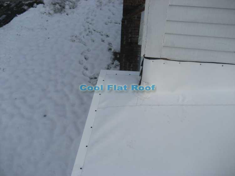Flat Roof In Lowell Massachusetts Cool Flat Roof Blog
