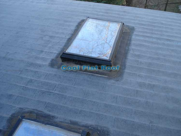 Rubber Roofing Installation Over Shingles : Flat roof in lowell massachusetts cool