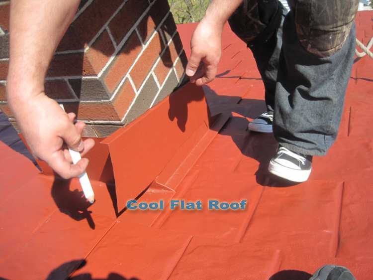 Install Roof Flashing Flashings Are Installed