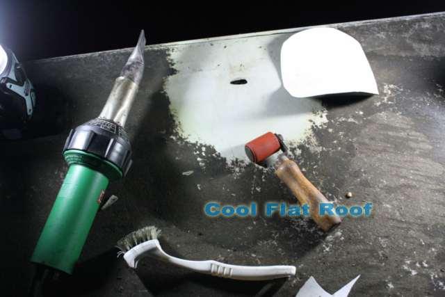Image of Sarnafil PVC Roof Repair