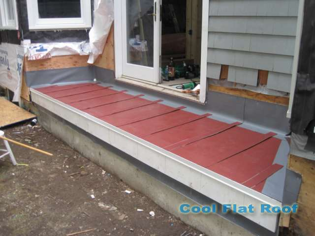 image of Flat Roof Deck in Cambridge MA
