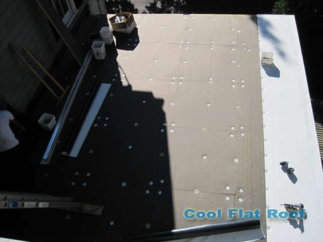 Image of Flat Roof with tapered insulation
