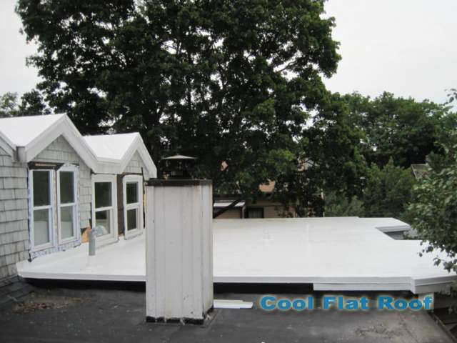 Image of Flat Roof in Cambridge MA
