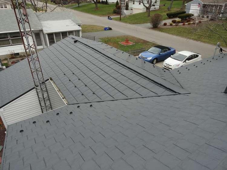 Metal Shingles Roof Installation In Cumberland Ri Cool