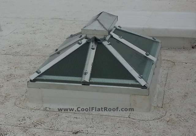 IB Roof Skylight Flashing - Brooklyn, NY