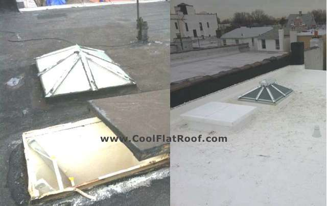 New Roof Hatch - IB Roof in Brooklyn, NY