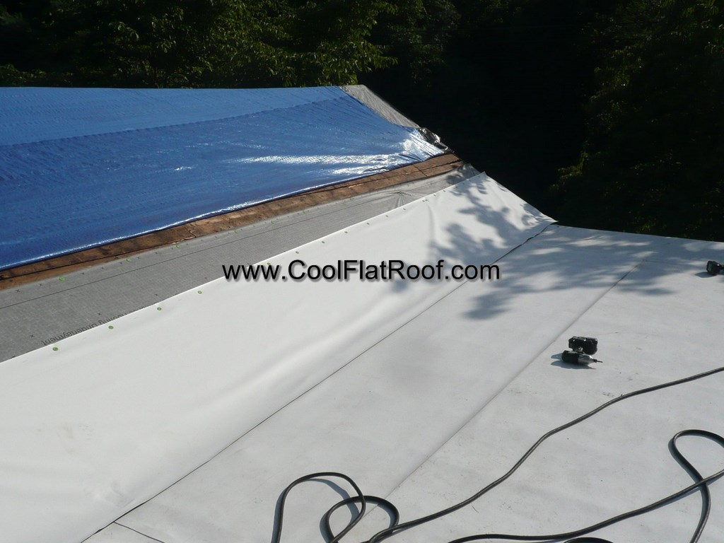 Slope Roof To Flat Roof Transition Issue W Ib Flat Roof