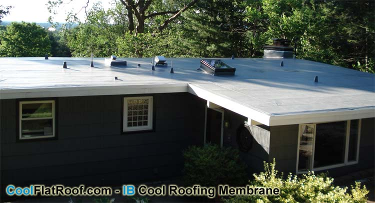 Cool Flat Roof Ma Pvc Flat Roofs And Metal Roofing