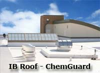 IB ChemGuard - The world's only true grease and oil-resistant roofing membrane. Designed specifically for restaurant and roofs where there are oil, grease and other chemical residues and build-ups. Warranties up-to 25 years will keep your restaurant roof leak free!