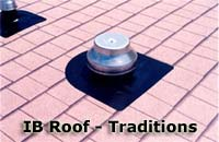 IB Traditions - The great-looking, long-lasting single-ply membrane for residential flat roofing.