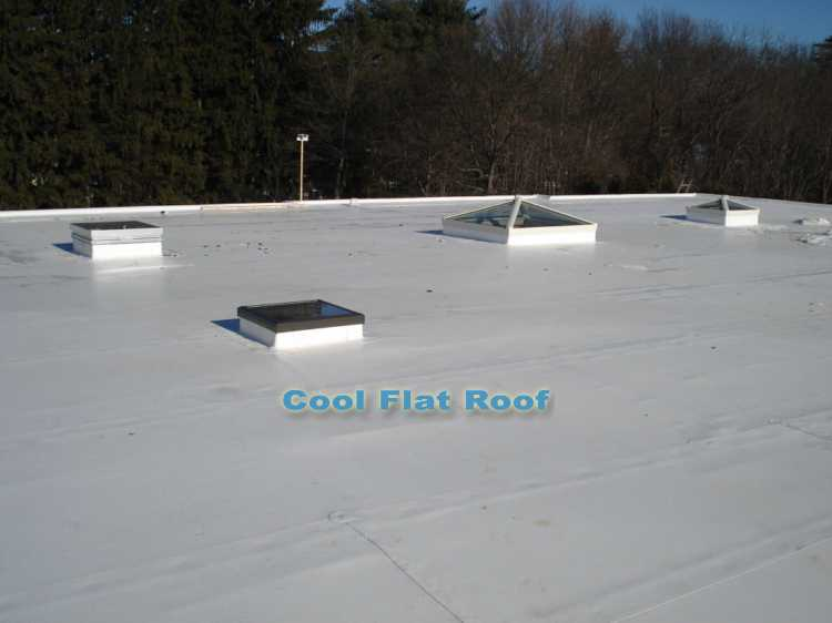 IB PVC Flat Roof in Massachusetts
