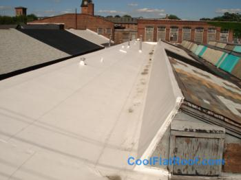Commercial Flat Roof In Central Falls Ri