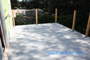 Flat Roof Deck In Wellesley, ...