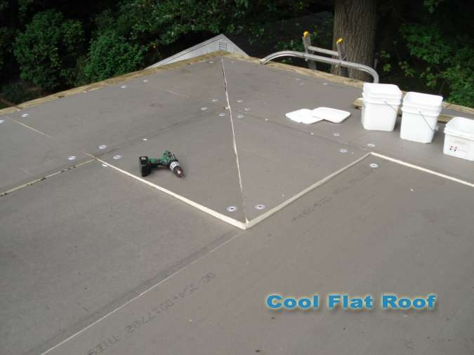 Flat Roof Installation Cool Flat Roof Ma