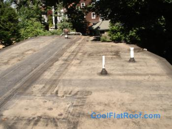 Residential Flat Roof In Providence Ri