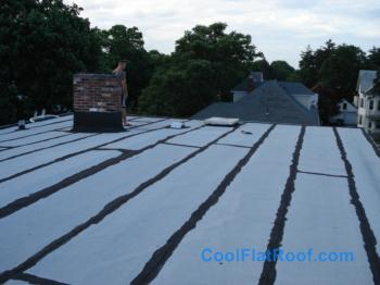 Flat Roof Condo Building In Providence Ri