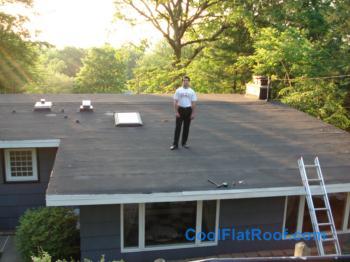 80 Mil Ib Flat Roof In Wallingford Ct
