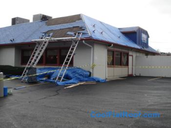 Ihop Restaurant Metal Roof In Brighton Ma