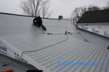 Low Slope Roof In Grafton Ma